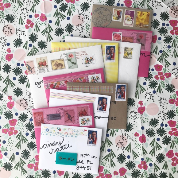 write on, national card and letter writing month, show and mail, stack of mail, snow and graham