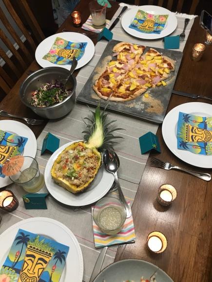 tiki birthday party, aloha birthday, #jktikiparty, tiki party