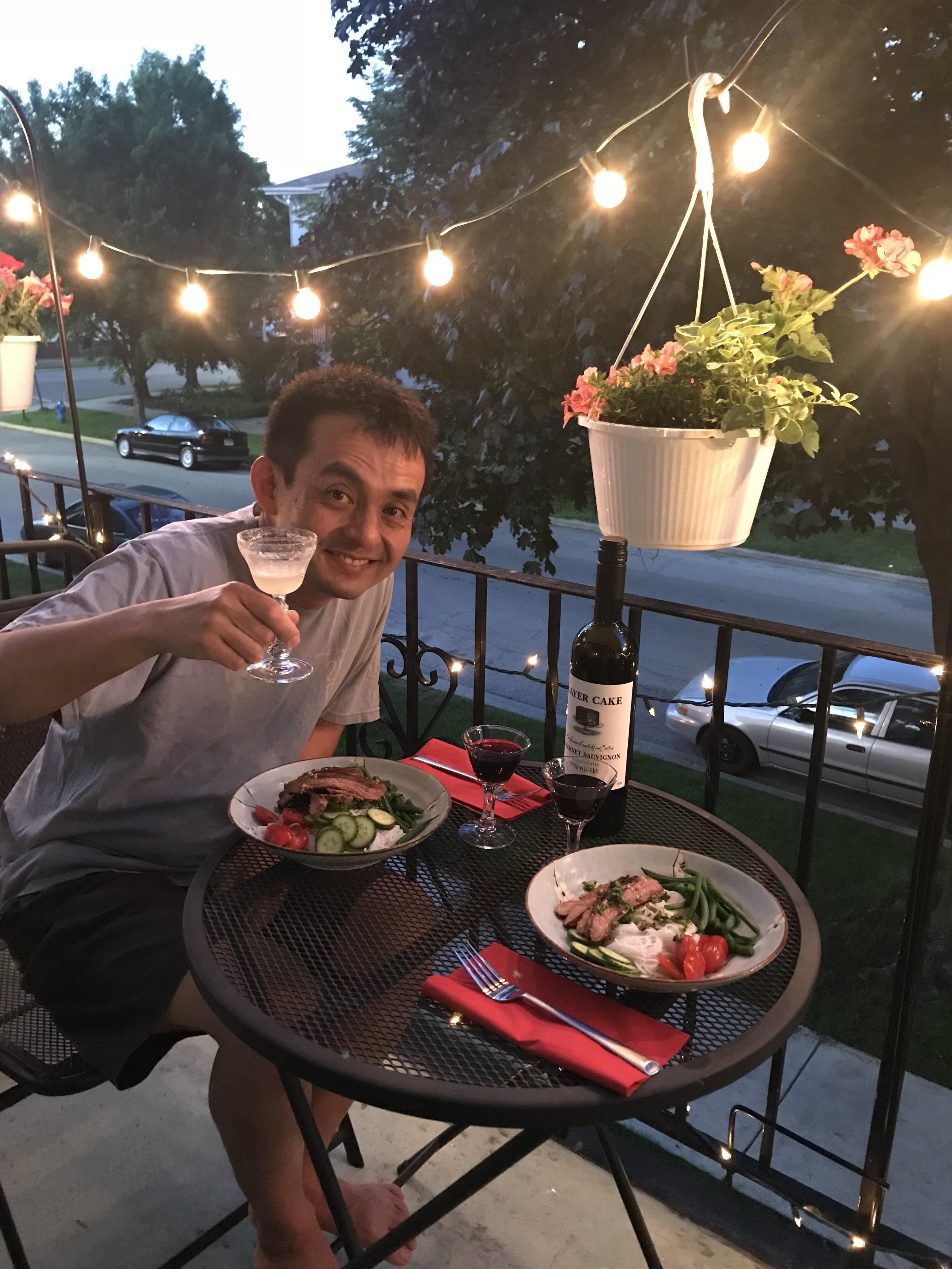 first lanai dinner 2018