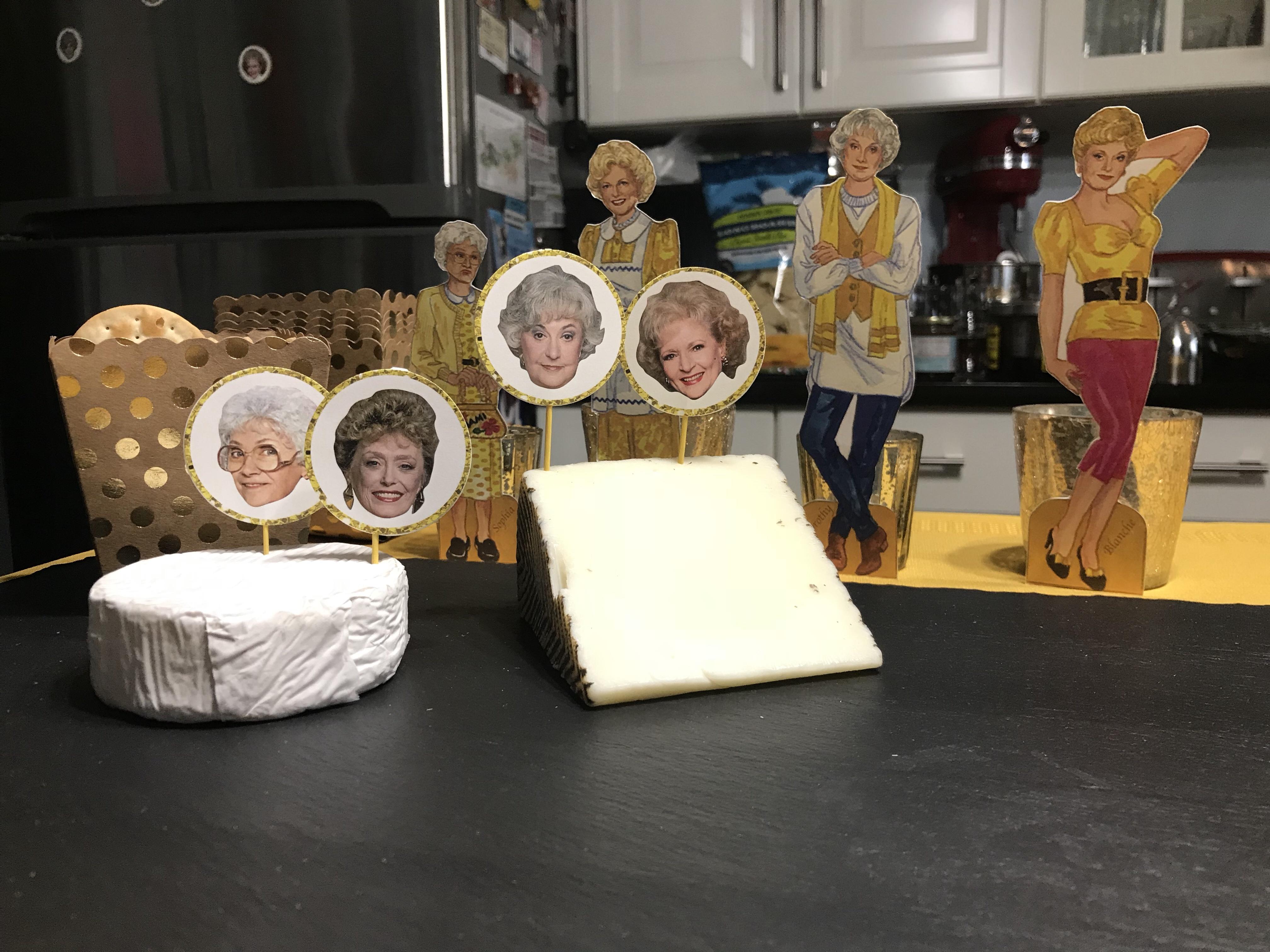 golden girls decorations, golden girls, blanche, dorothy, rose, sophia