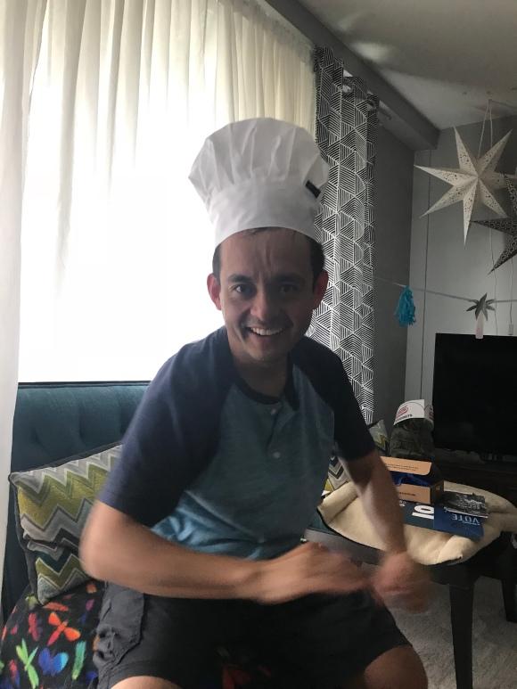 chef's hat, naoto's 12th anniversary gift
