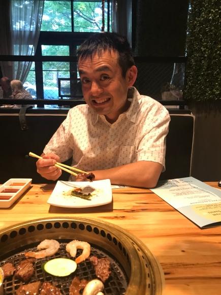Gyu-kaku Japanese BBQ, west loop restaurants, grilling meats