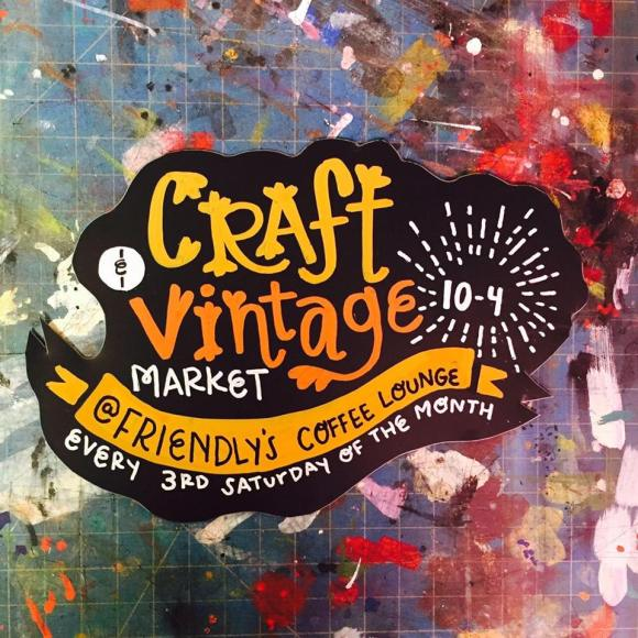 craft and vintage market, friendly's in berwyn