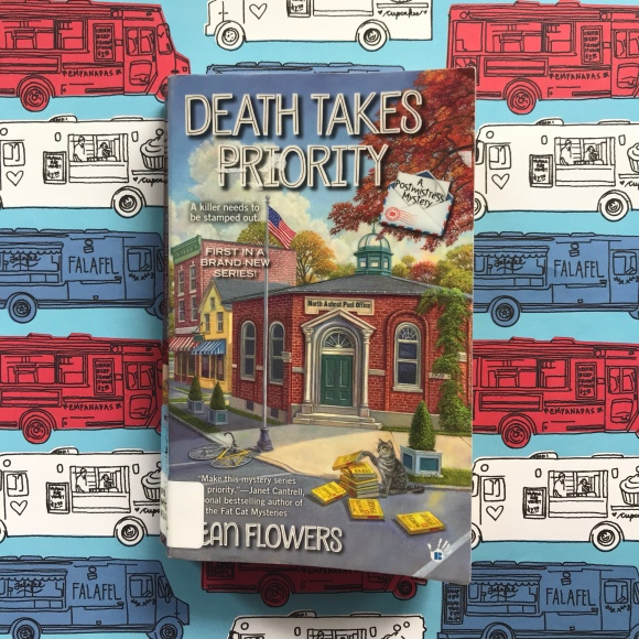 Death Takes Priority, mail reads , postal books, mystery books