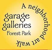 garage galleries, forest park, neighborhood art walk