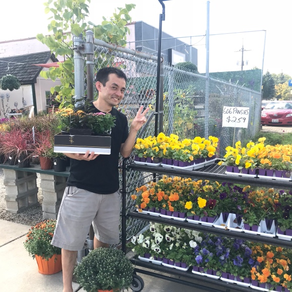 empowering gardens inc, forest park, Naoto at Empowering Gardens