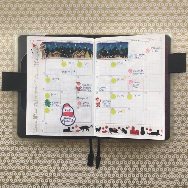 Hasegawa Hobonichi Hour, Hobonichi store, Tobichi, Calendar layout