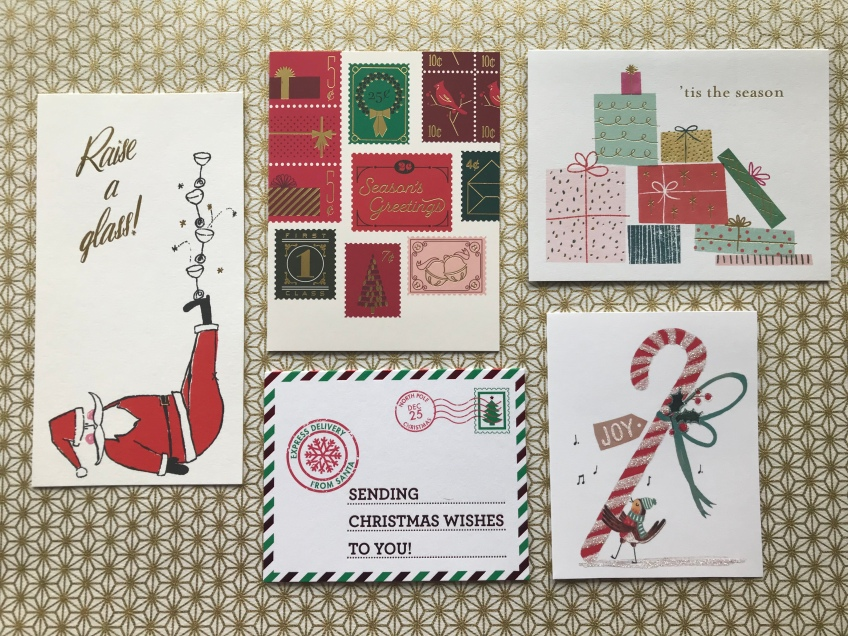 Papyrus Christmas Cards.Christmas Cards 2018 Kate Spade Snow And Graham Paper