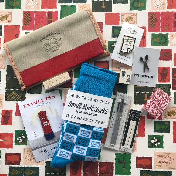 snail mail christmas gifts, baum kuchen, greer, constellation co, office supply gifts