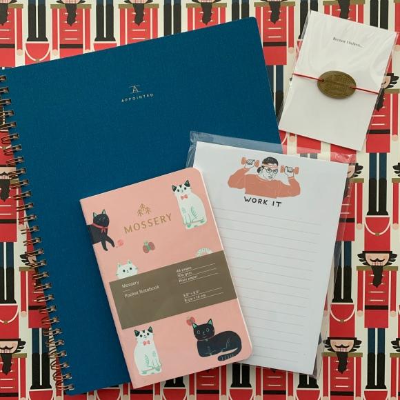 Greer gifts, Baum Kuchen traveler's notebook charm