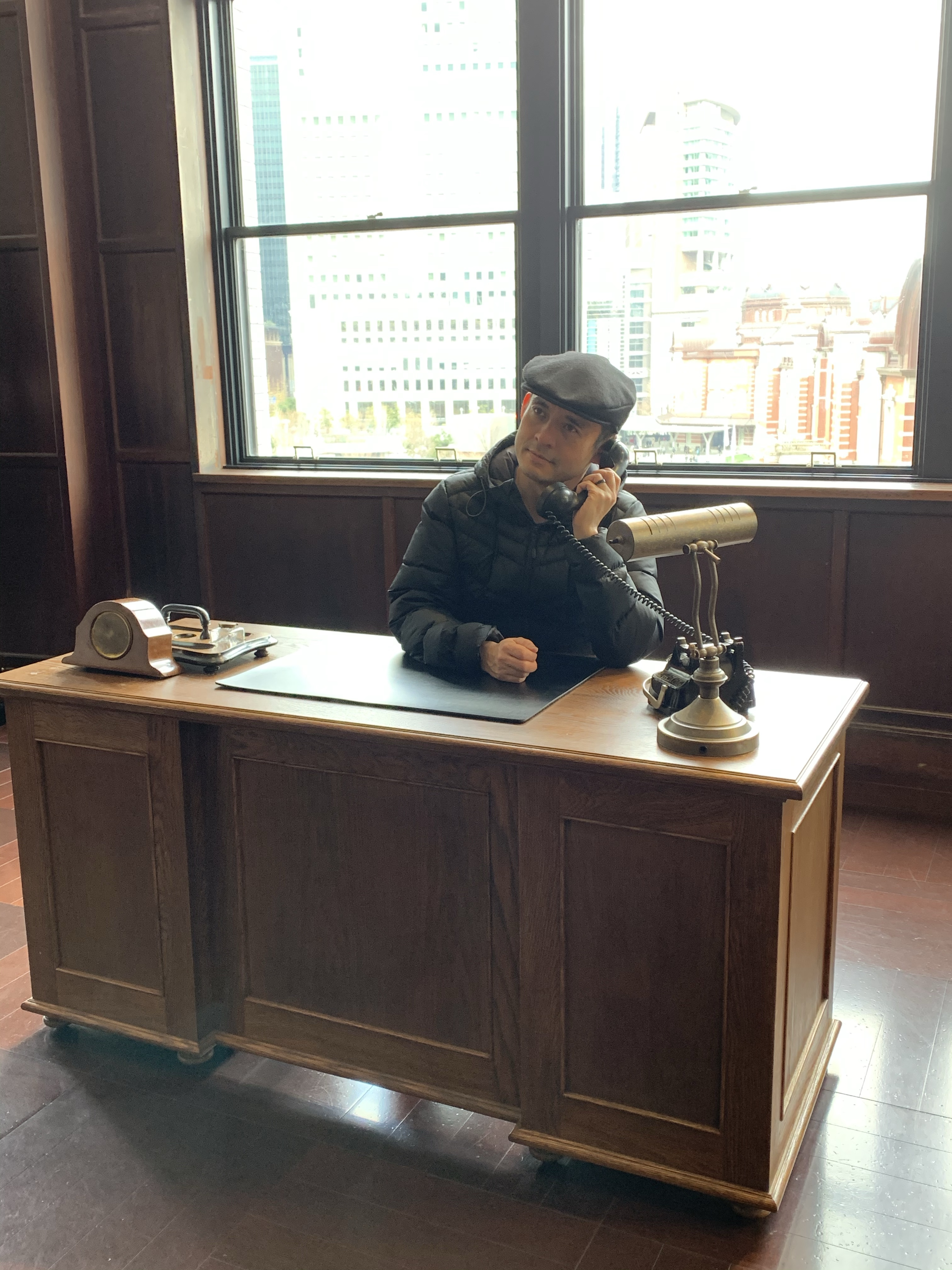 Station master's office, Tokyo Station