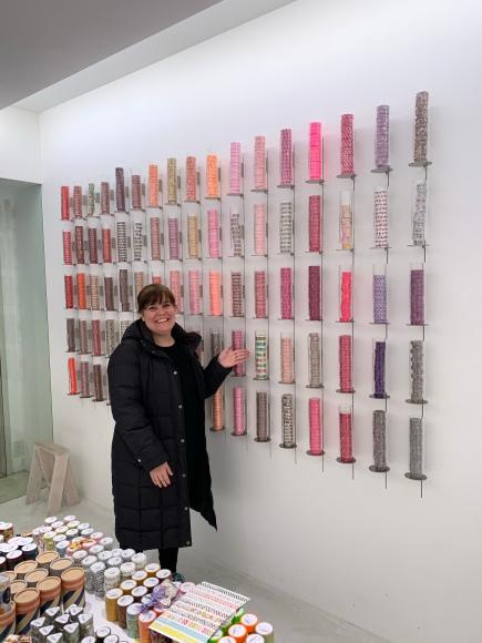 walls of washi, mt tape, washi tape, mt labo