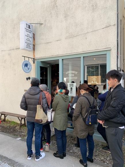 Traveler's Factory lottery line