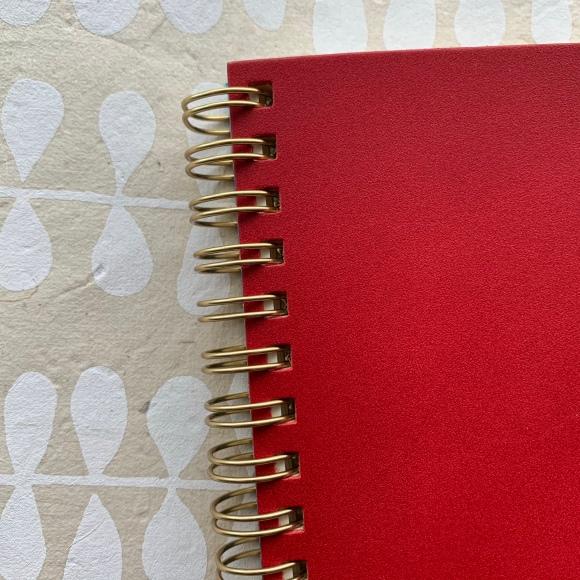 kakimori notebook kakimori notebook, gold accents