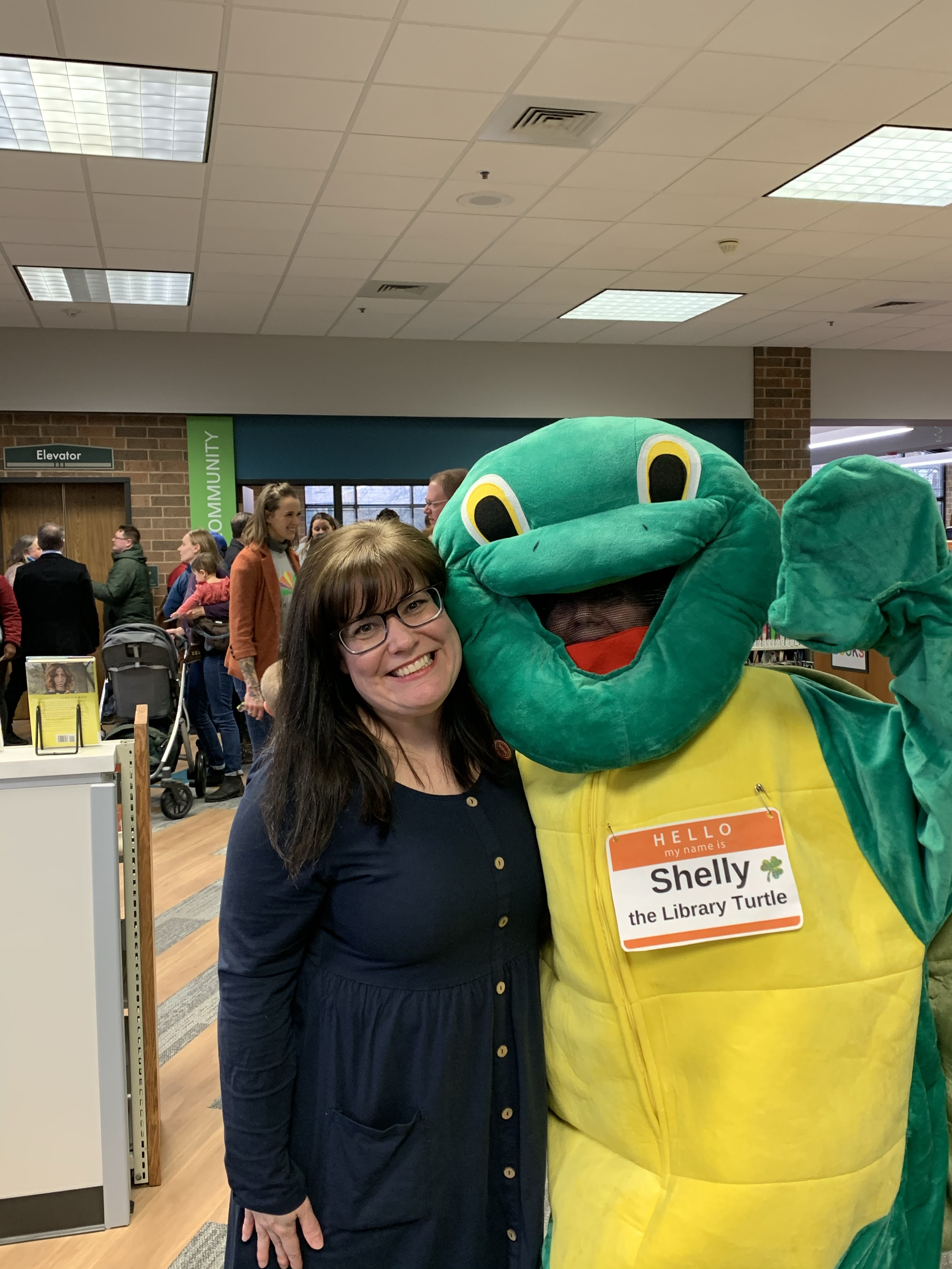 Forest Park Public library, Forest Park, library, grand reopening