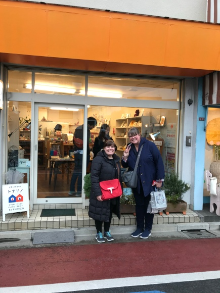 TestPatern and Kimberly in Japan