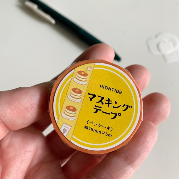 hightide washi tape, pancake washi tape, japanese pancake